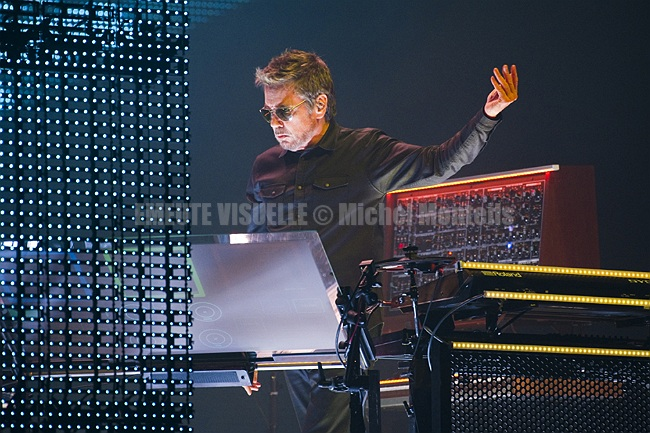 JEAN MICHEL JARRE Accorhotels Arena Paris Bercy