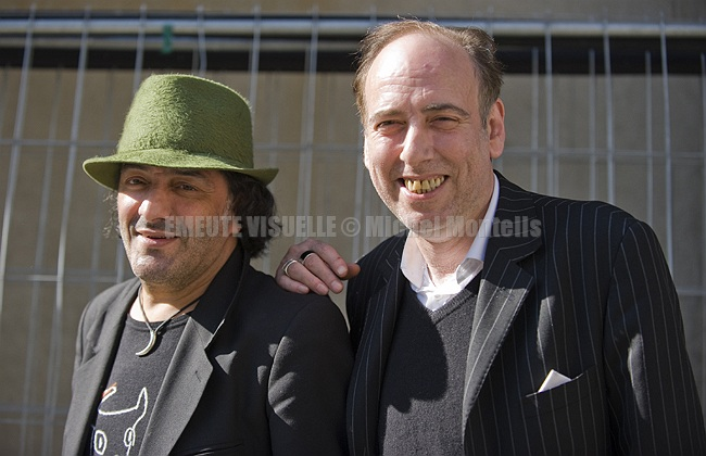 RACHID TAHA  avec MICK JONES de THE CLASH m1958 - 2018
