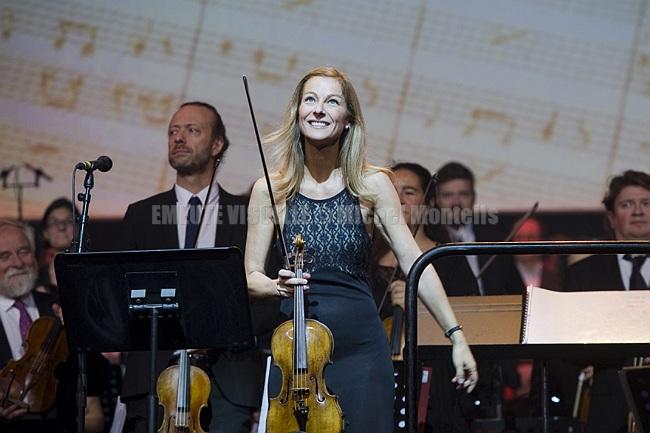 ANNE GRAVOIN au concert de VLADIMIR COSMA Grand Rex 2019