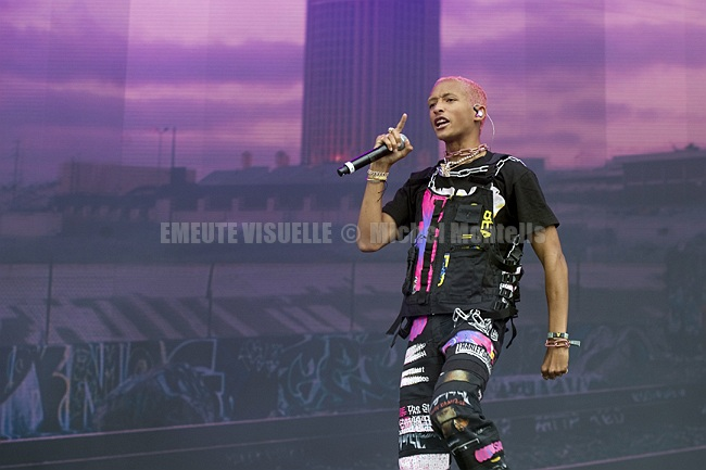 JADEN SMITH Lollapalooza Paris 2019