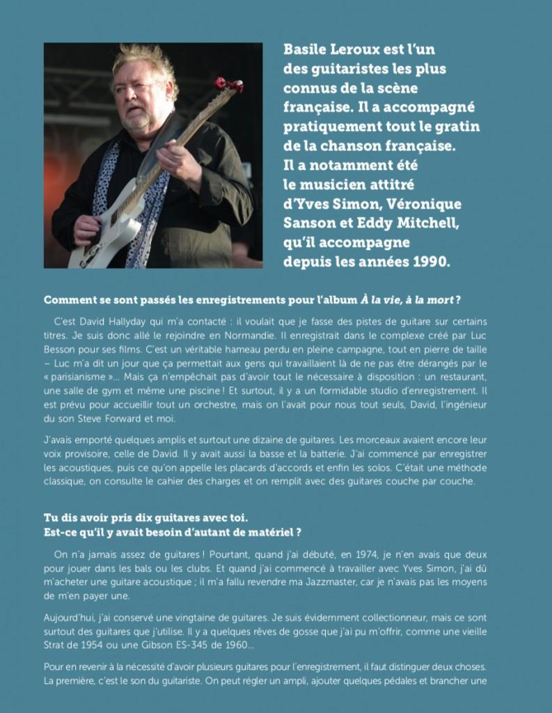 """Livre """"Johnny par ses guitaristes"""""""