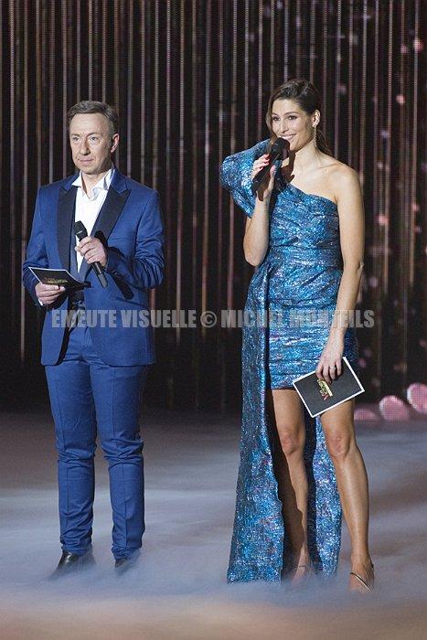 STEPHANE BERN LAURIE THILLEMAN Victoires de la Musique 2021